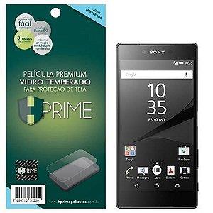 Película Hprime de Vidro Temperado para Sony Xperia Z5 Premium