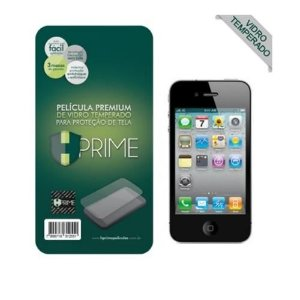 Pelicula de Vidro Temperado Iphone 4 4S Hprime