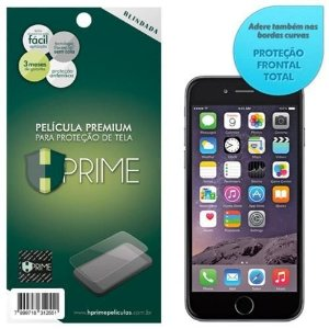 Película Hprime Apple Iphone 6 / 6S - Curves (Cobre A Parte Curva Da Tela).