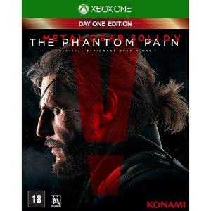 Jogo Metal Gear Solid V: The Phantom Pain Day One Edition - Xbox One