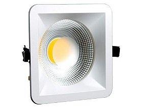 Luminária Super Led Cob Quadrada 15W, 20W ou 30W 3000K ou 6000K FLC