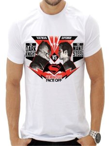 CAMISETA BATMAM VS SUPERMAN - THE ULTIMATE FACE OFF