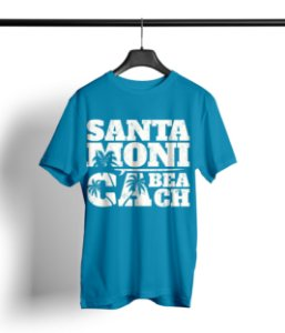 T-SHIRT SANTA MONICA BEACH