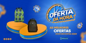 Kit de Mochilas Casuais e Notebook Lançamento