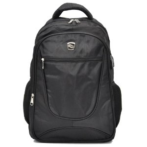 MOCHILA P/ NOTEBOOK C/ CABO USB - MM1722-1