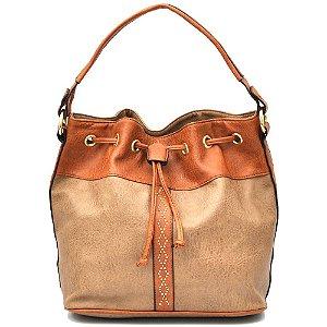 0da349d83 Encontre Bolsa feminina em couro e tecido modelo | Multiplace