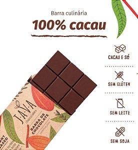 Barra de chocolate 100% cacau - 5kg