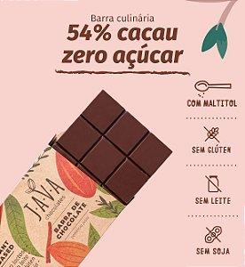 Barra de chocolate 54% DIET - Apenas 5kg