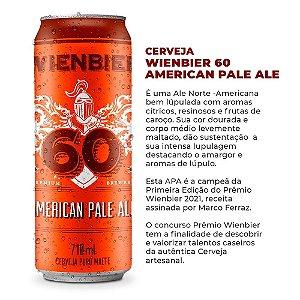 Cerveja Wienbier 60 - APA - American Pale Ale 710ml