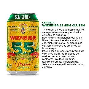 Cerveja Wienbier 55 Pilsen Sem Glúten 350ml
