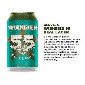 Cerveja Wienbier 55 Real Lager 350ml