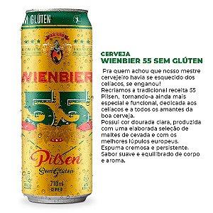 Cerveja Wienbier 55 Pilsen Sem Glúten 710ml