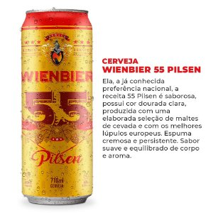 Cerveja Wienbier 55 Pilsen 710ml