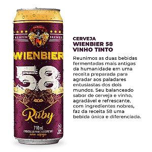 Cerveja Wienbier 58 Vinho 710ml