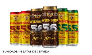 Kit Cervejas Leves - 6 Latas de 710ml