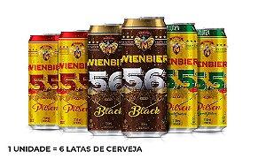 Kit Cervejas Leves - 6 Latas de 710ml