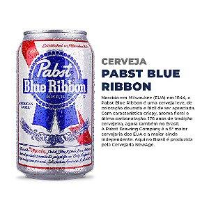 Cerveja Pabst Blue Ribbon -  Lata 350ml