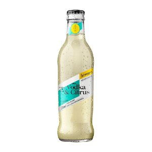 Schweppes Drinks Vodka Citrus - 250ml