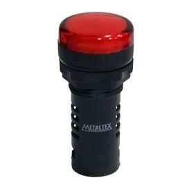 Sinaleiro 22mm Vermelho 24vcc