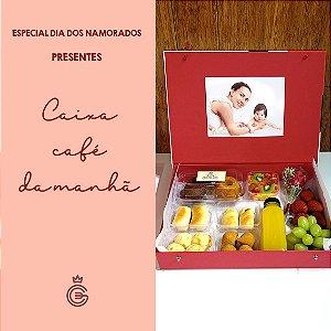 DIA DOS NAMORADOS - Caixa Café da Manhã com Foto - Entrega 12/06/2021
