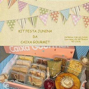 Kit Festa Junina da Caixa Gourmet - Completo - Entrega SÁBADO