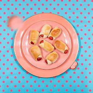 Mini Hot-Dog / Enroladinho de Salsicha (30 unidades)