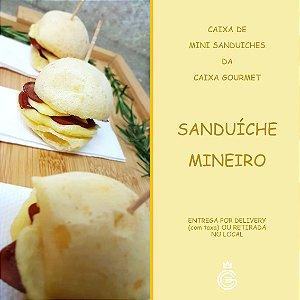 Kit Caixa Sanduíche - Mini Sanduíche Mineiro (15 unidades)