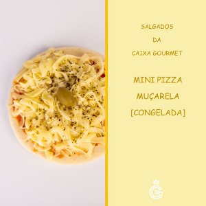 Mini Pizza de Muçarela (30 unidades) - CONGELADA