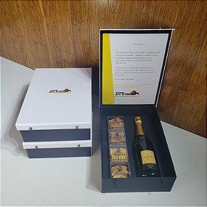 Kit Corporativo Congratulation Chandon PERSONALIZADO 4 Snacks(pedido mínimo de 10 unidades)