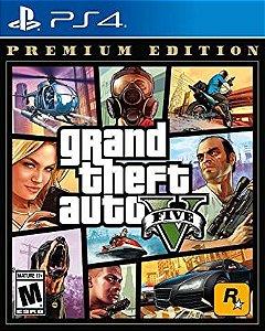 JOGO GTA V PREMIUM EDITION - PS4