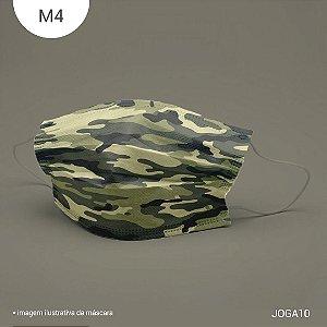 Máscara de Tecido| 2 camadas de proteção | Ajuste no nariz | M4