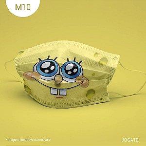 Máscara de Tecido| 2 camadas de proteção | Ajuste no nariz | M10