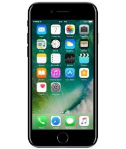 iPhone 7 Jet Black 256GB Novo, Desbloqueado com 1 Ano de Garantia - 7W6BNA5H6