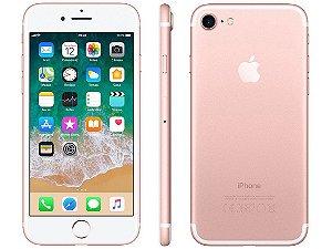 iPhone 7 Rose 32GB Novo, Desbloqueado com 1 Ano de Garantia - HFE4YDRCM