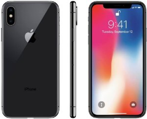 iPhone X Cinza Espacial 256GB Novo, Desbloqueado com 1 Ano de Garantia - FXJZCMF9P