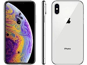iPhone XS Prata 64GB Novo, Desbloqueado com 1 Ano de Garantia - YZ9HAD8C5