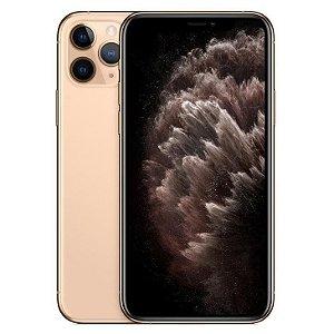 iPhone 11 Pro Dourado 256GB Novo, Desbloqueado com 1 Ano de Garantia - V8Y2WACRY