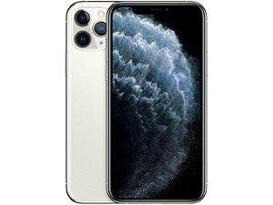 iPhone 11 Pro Prata 256GB Novo, Desbloqueado com 1 Ano de Garantia - MHUGAEYQX