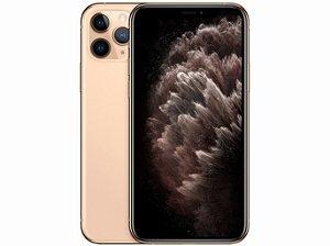 iPhone 11 Pro MAX Dourado 256GB Novo, Desbloqueado com 1 Ano de Garantia - SYZX8VMZH