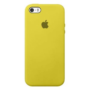 Case Capinha Amarela para iPhone 5/5s/5c e SE 1 GERAÇÃO de Silicone - KK7CSGRJZ