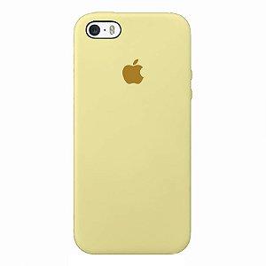 Case Capinha Amarelo Bebê para iPhone 5/5s/5c e SE 1 GERAÇÃO de Silicone - H24C8DTUL