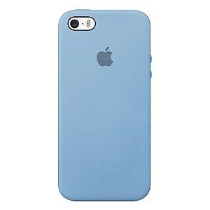 Case Capinha Azul Bebê para iPhone 5/5s/5c e SE 1 GERAÇÃO de Silicone - ERKBUC6JA