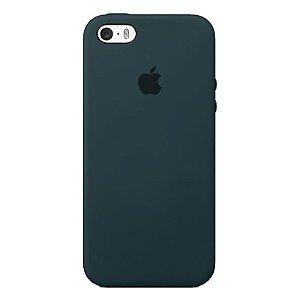 Case Capinha Azul Horizonte para iPhone 5/5s/5c e SE 1 GERAÇÃO de Silicone - FIMZHEZRB