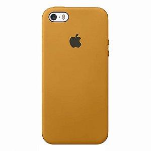 Case Capinha Mostarda para iPhone 5/5s/5c e SE 1 GERAÇÃO de Silicone - PH8ITQ6RI