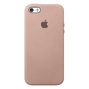 Case Capinha Rosa Areia para iPhone 5/5s/5c e SE 1 GERAÇÃO de Silicone - 9AXJUKB9W