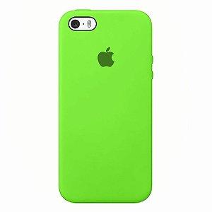 Case Capinha Verde para iPhone 5/5s/5c e SE 1 GERAÇÃO de Silicone - FWXD4EQZ1