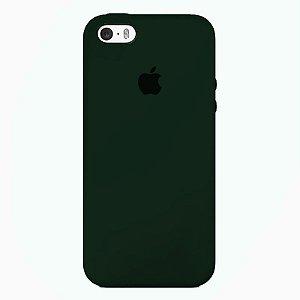 Case Capinha Verde Floresta para iPhone 5/5s/5c e SE 1 GERAÇÃO de Silicone - 9361B3C8T