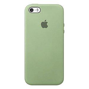 Case Capinha Verde Menta para iPhone 5/5s/5c e SE 1 GERAÇÃO de Silicone - VFEIWU0P3