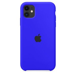 Case Capinha Azul Caneta para iPhone 11 de Silicone - 6XYJ6AF8W