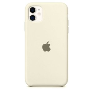 Case Capinha Branco Off White para iPhone 11 de Silicone - 2P56J9IC4